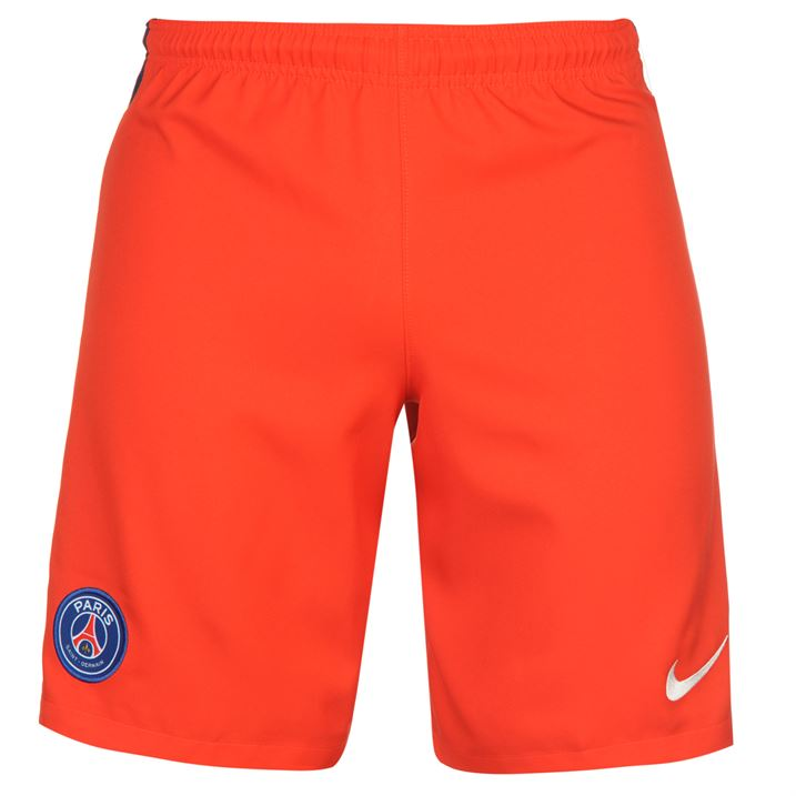 2016-2017 PSG Nike Away Shorts (Red)