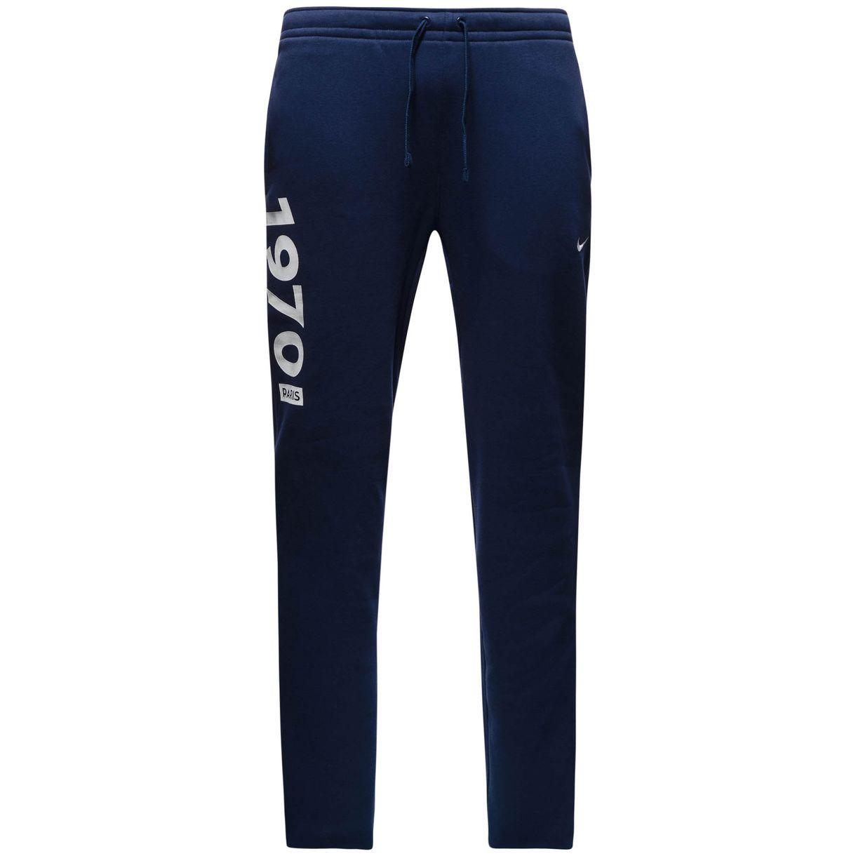 2016-2017 PSG Nike Core Cuff Fleece Pants (Navy)