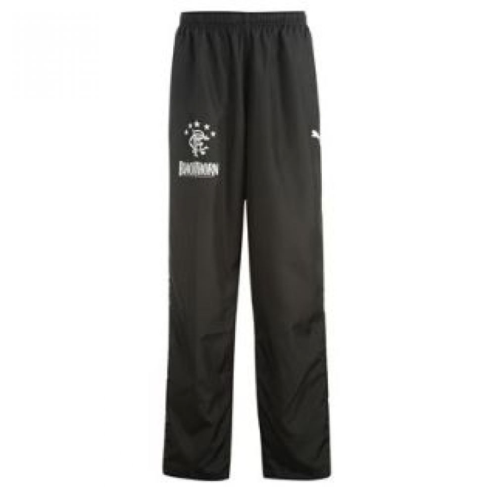 2013-14 Rangers Puma Woven Pants (Black) - Kids