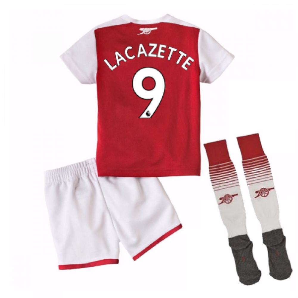 2017-18 Arsenal Home Mini Kit (Lacazette 9)