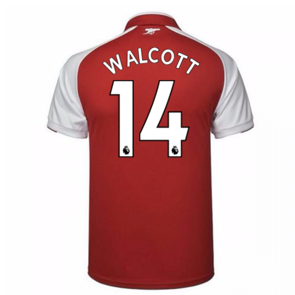 2017-18 Arsenal Home Shirt (Walcott 14)