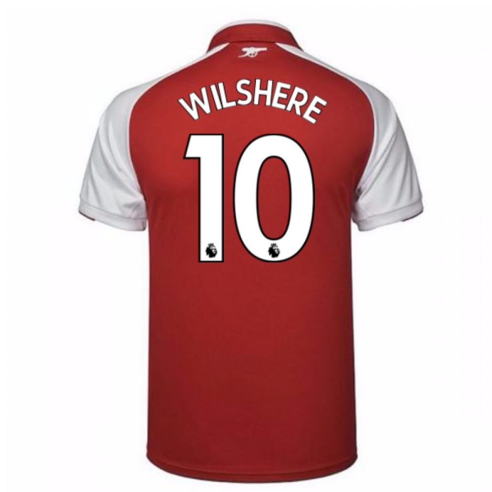 2017-18 Arsenal Home Shirt (Wilshere 10)