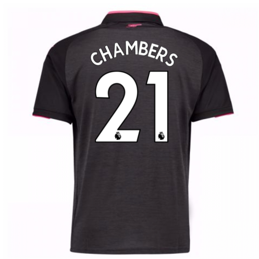 2017-18 Arsenal Third Shirt (Chambers 21)