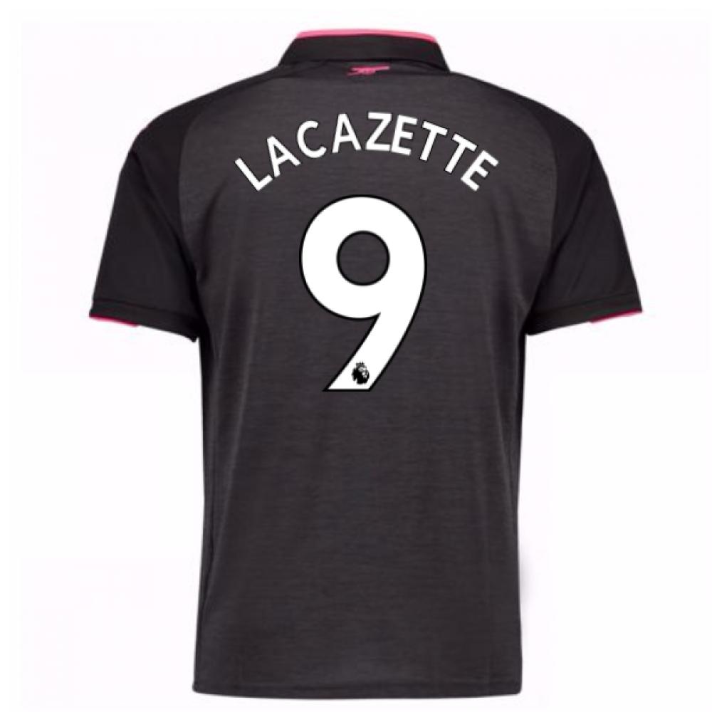2017-18 Arsenal Third Shirt (Lacazette 9)