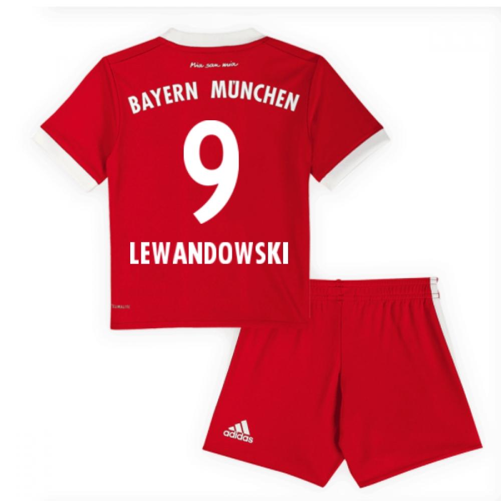 2017-18 Bayern Munich Baby Kit (Lewandowski 9)