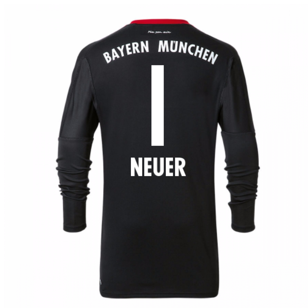 2017-18 Bayern Munich Home Goalkeeper Shirt - Kids (Neuer 1)