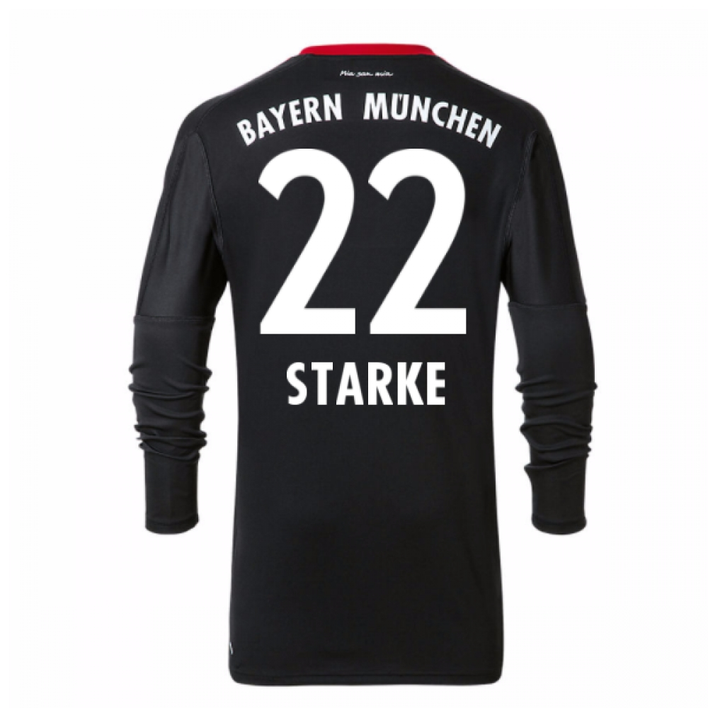 2017-18 Bayern Munich Home Goalkeeper Shirt - Kids (Starke 22)