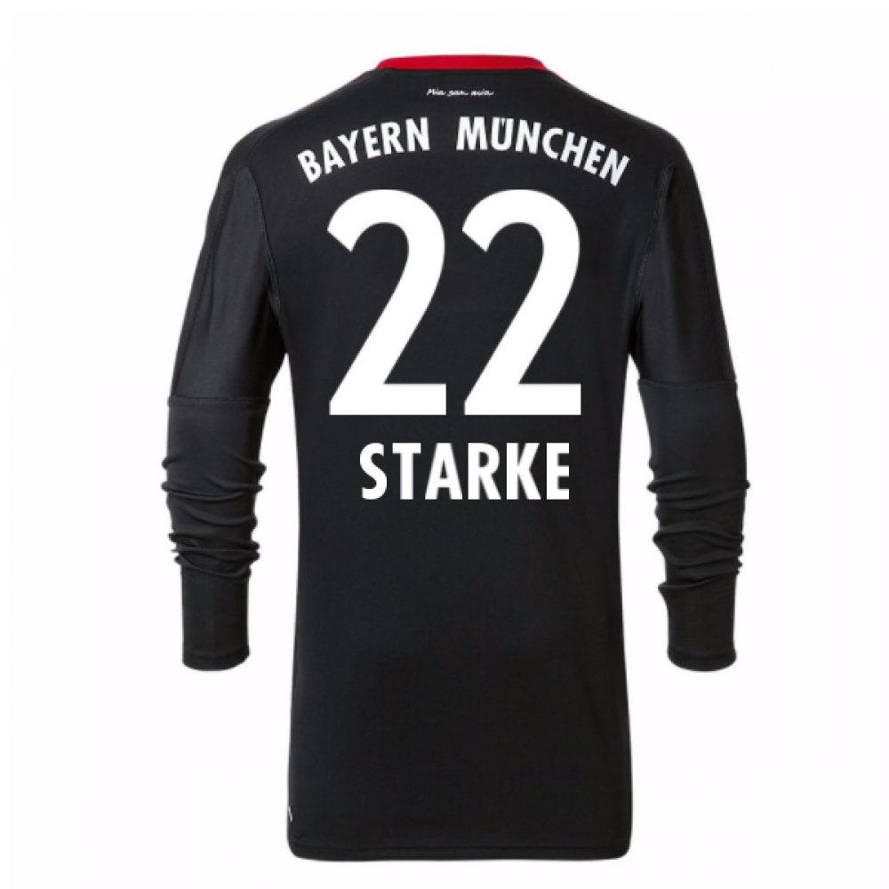 2017-18 Bayern Munich Home Goalkeeper Shirt (Starke 22)