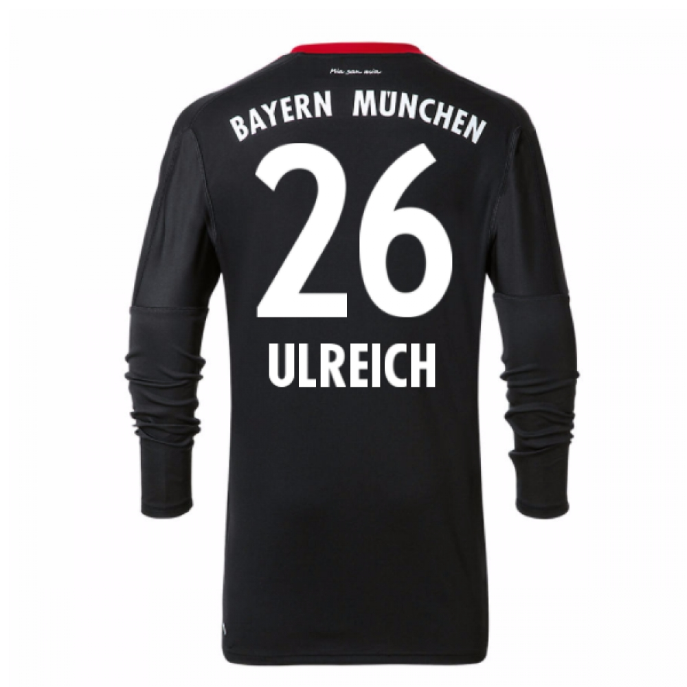 2017-18 Bayern Munich Home Goalkeeper Shirt (Ulreich 26)