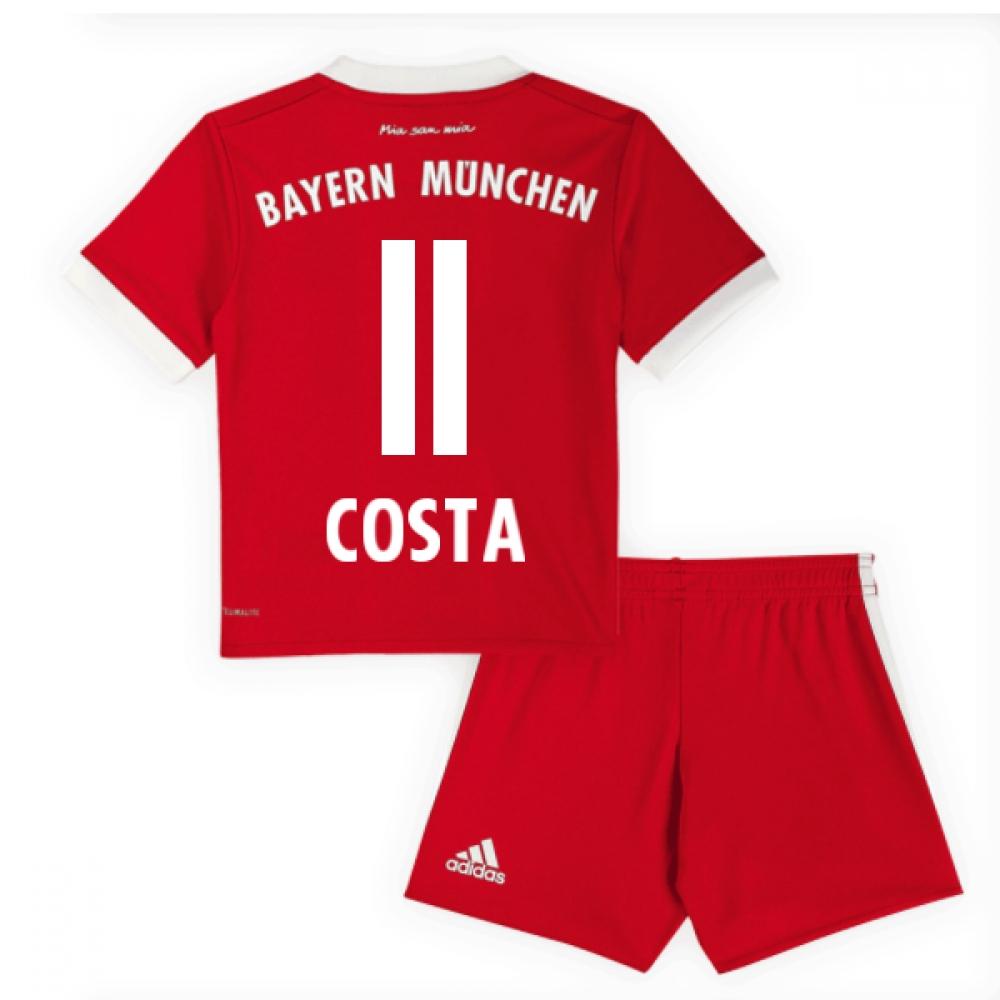 2017-18 Bayern Munich Home Mini Kit (Costa 11)