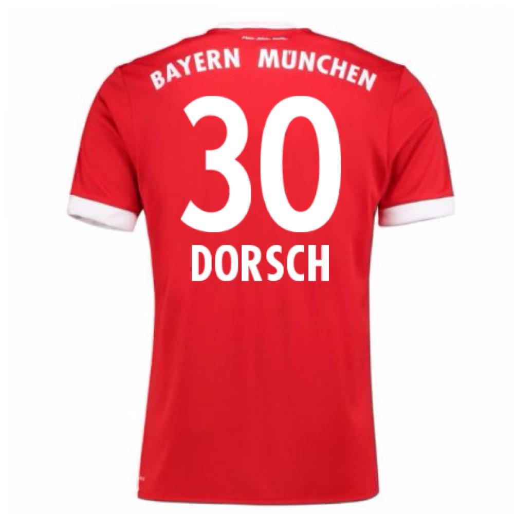 2017-18 Bayern Munich Home Short Sleeve (Kids) (Dorsch 30)