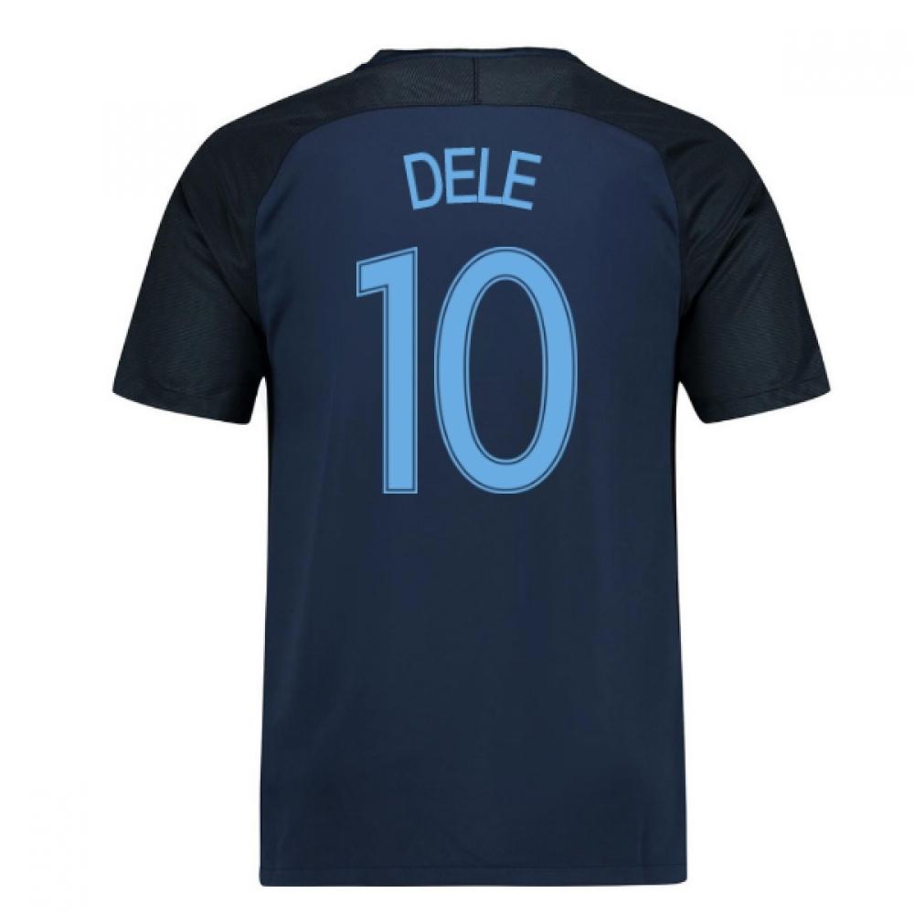2017-18 England Away Shirt (Dele 10) - Kids