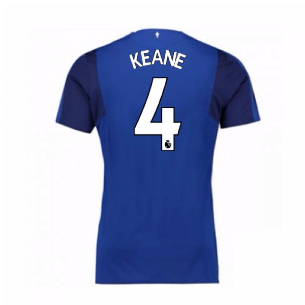2017-18 Everton Home Shirt (Keane 4)