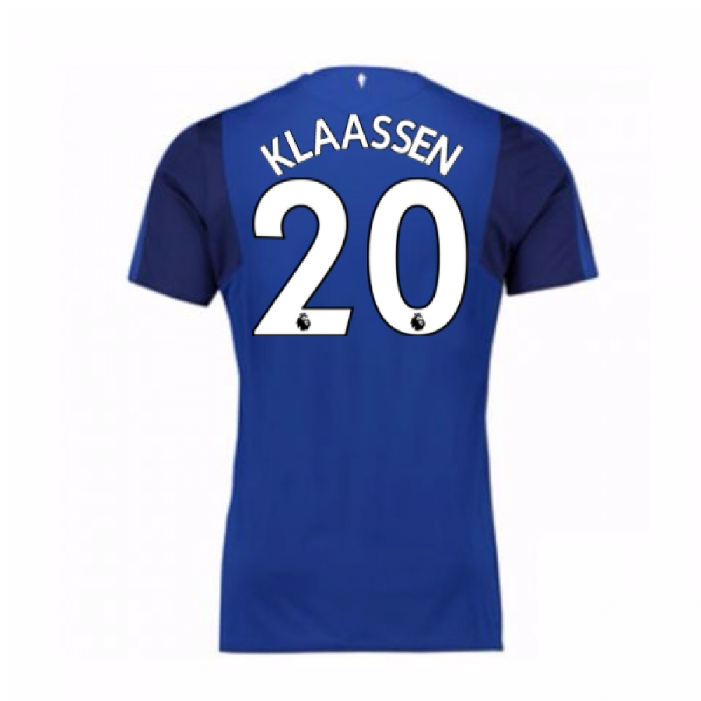 2017-18 Everton Home Shirt (Klaassen 20)