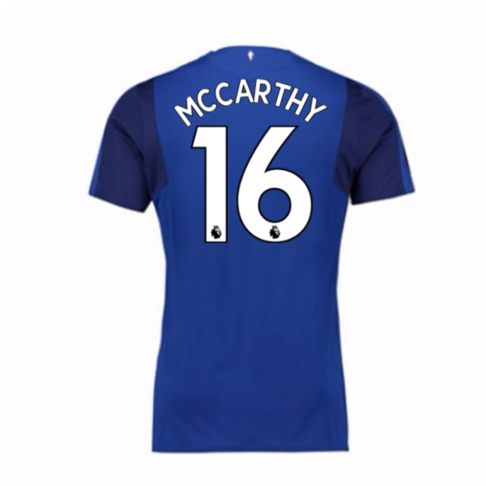2017-18 Everton Home Shirt (McCarthy 16)