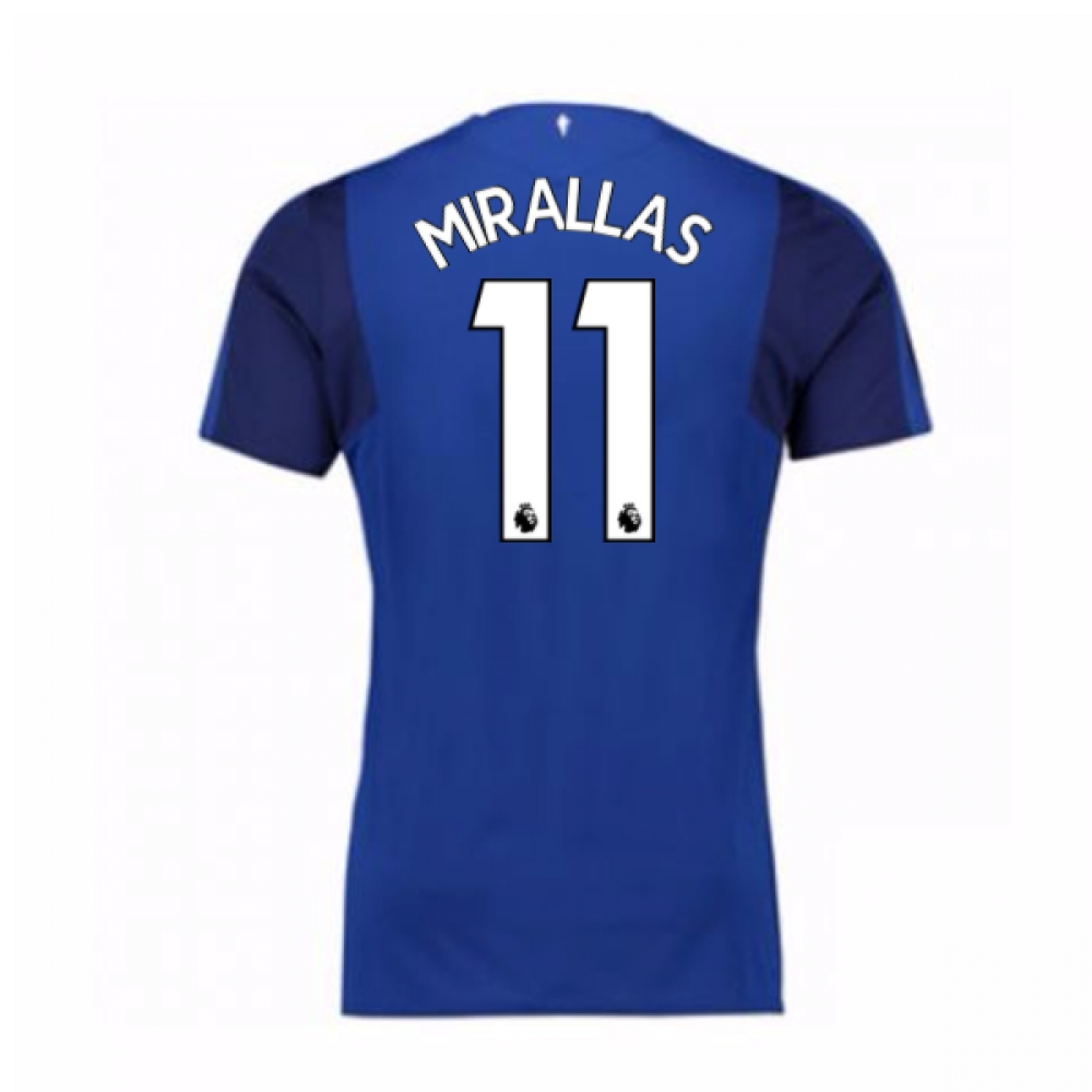 2017-18 Everton Home Shirt (Mirallas 11)
