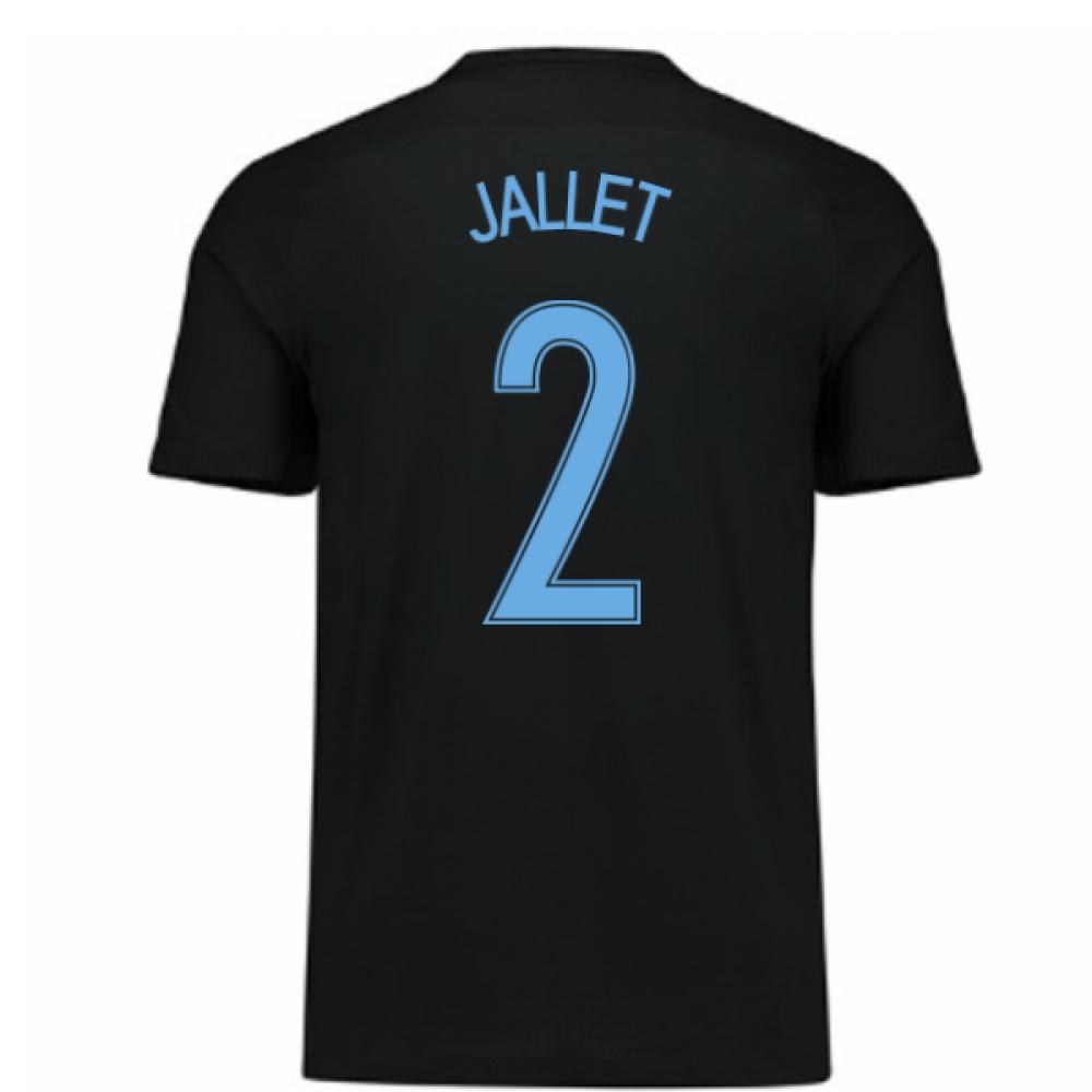 2017-18 France Away Nike Shirt (Black) - Kids (Jallet 2)