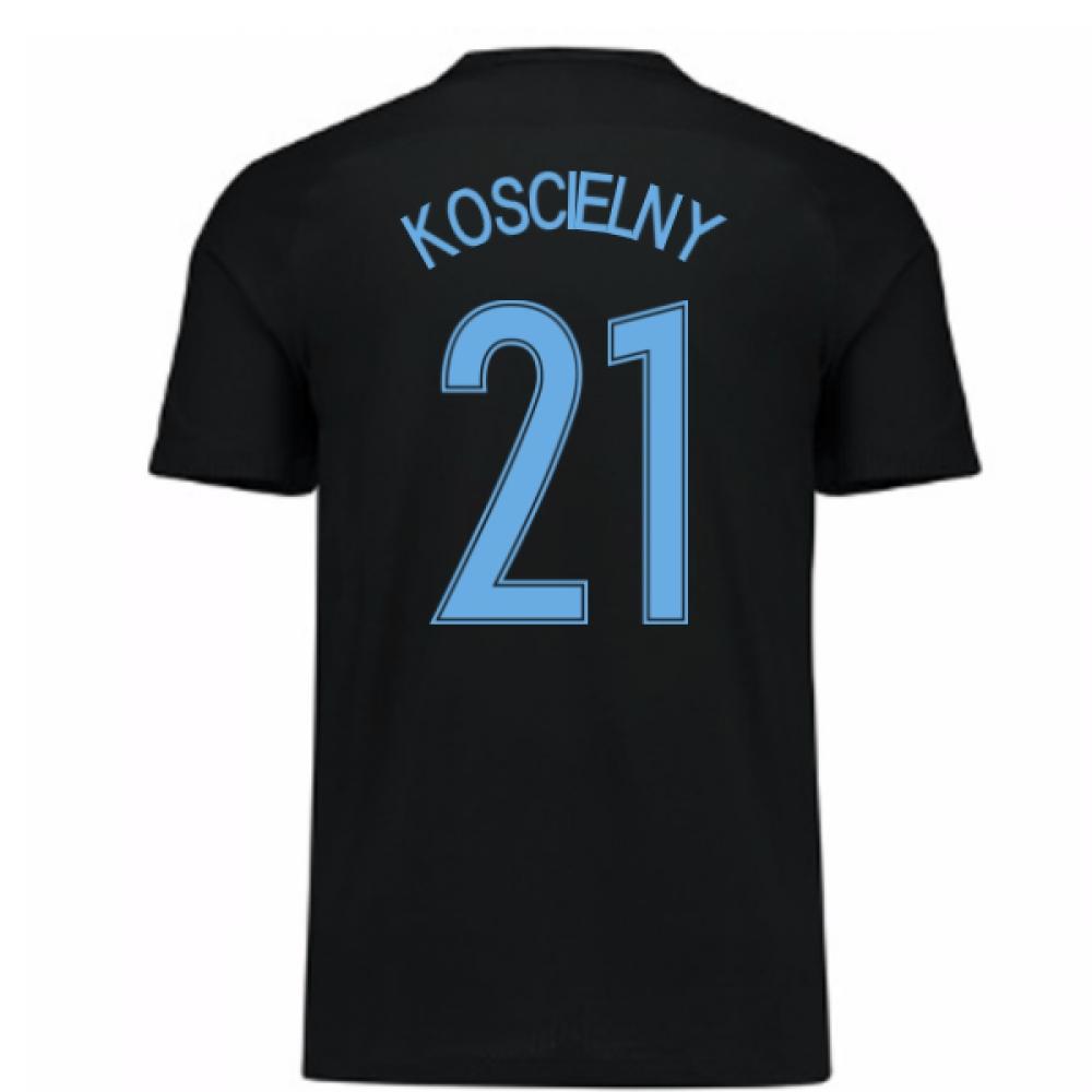 2017-18 France Away Nike Shirt (Black) - Kids (Koscielny 21)