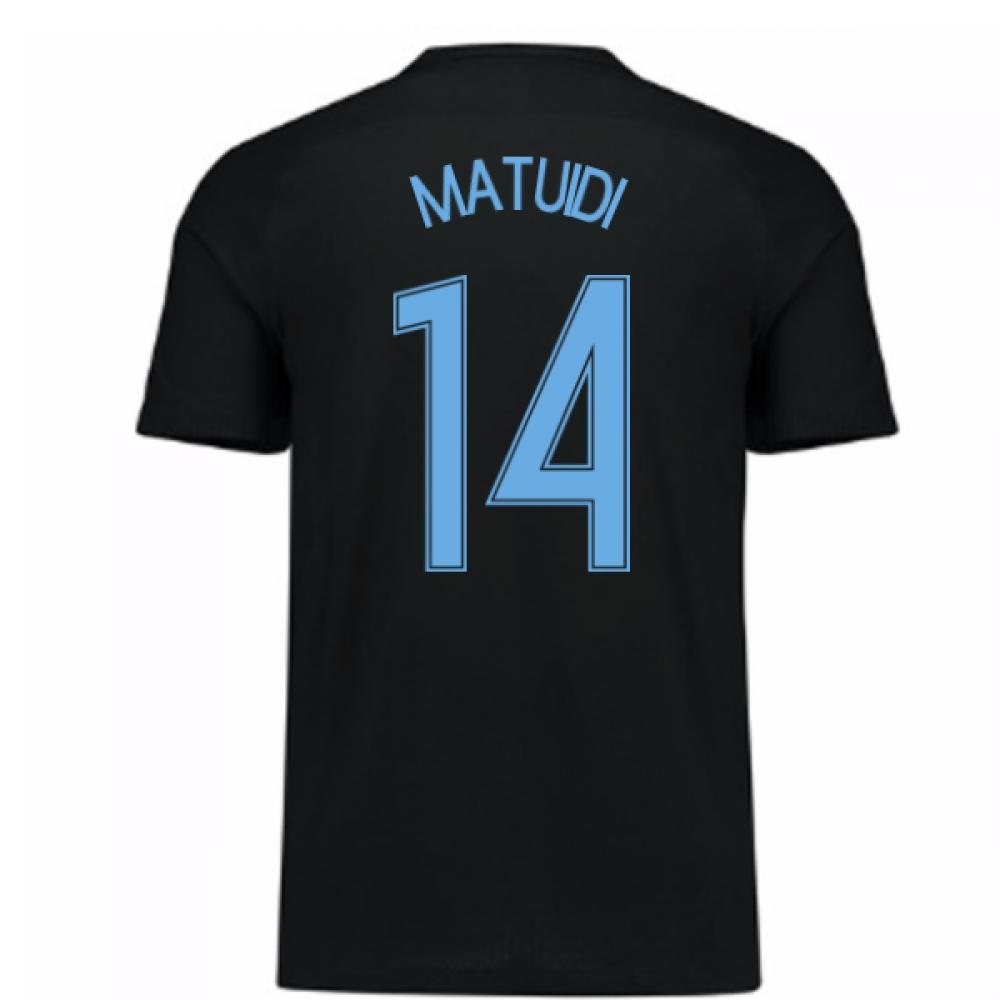 2017-18 France Away Nike Shirt (Black) - Kids (Matuidi 14)