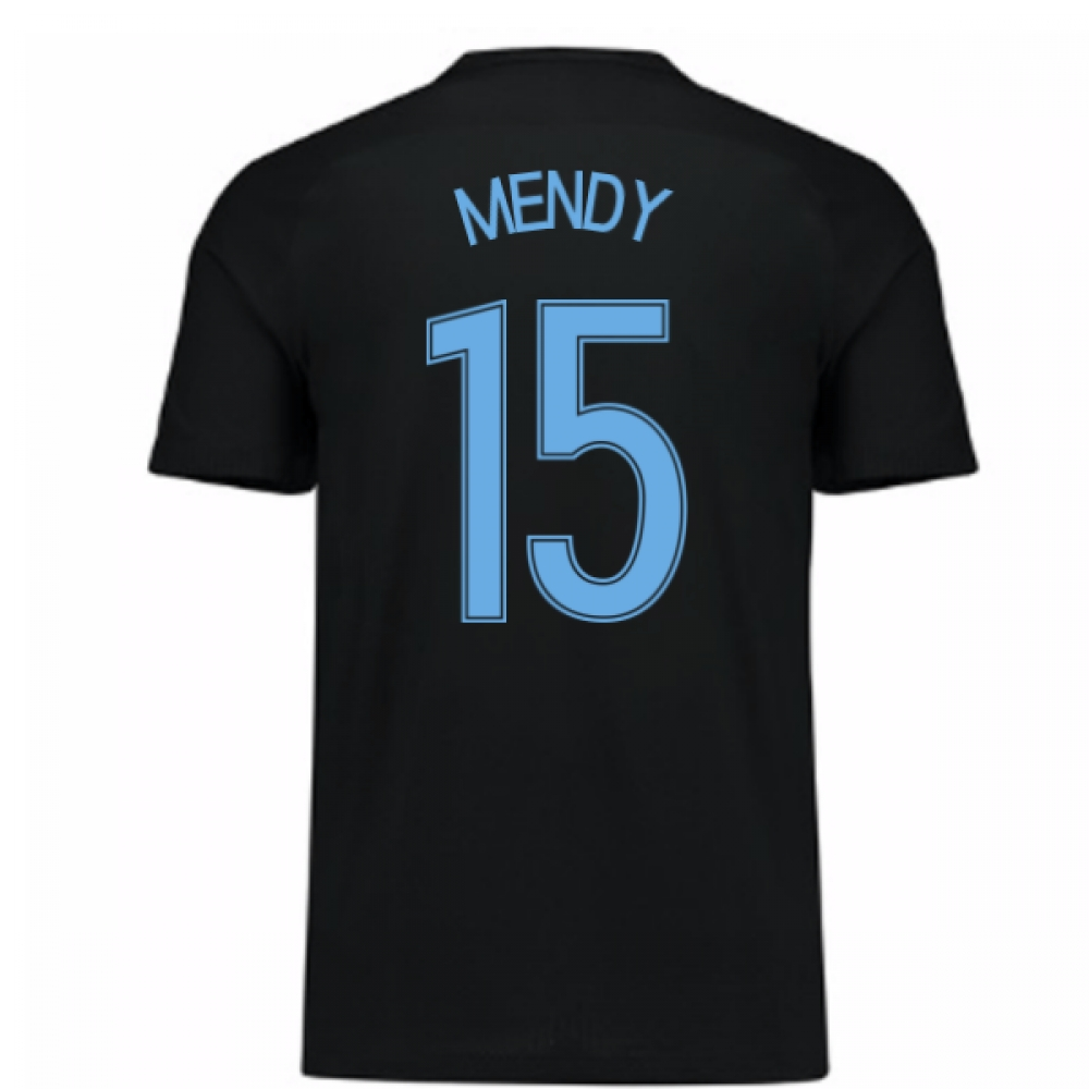 2017-18 France Away Nike Shirt (Black) - Kids (Mendy 15)