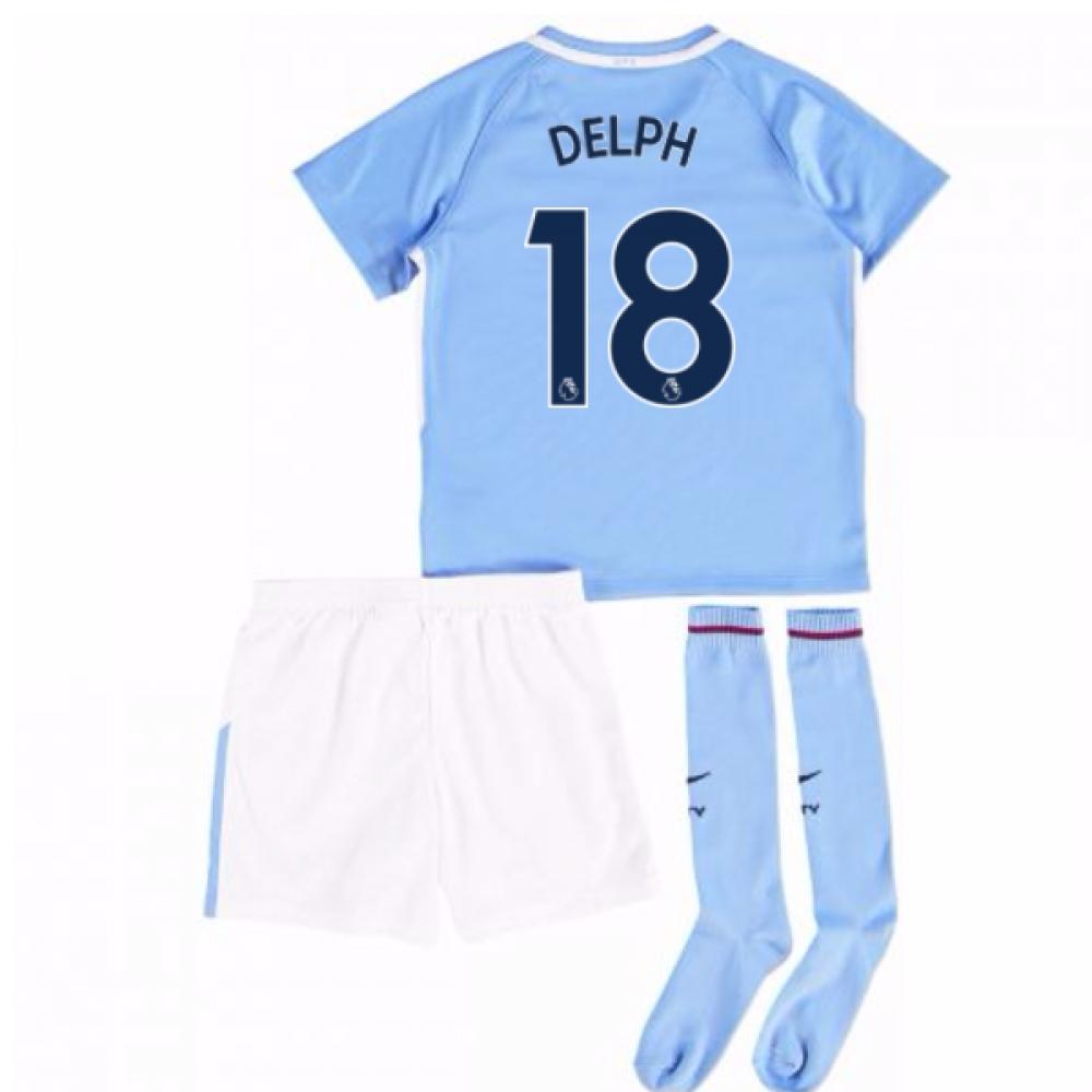 2017-18 Man City Mini Kit (Delph 18)
