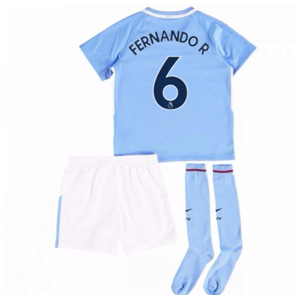 2017-18 Man City Mini Kit (Fernando R 6)