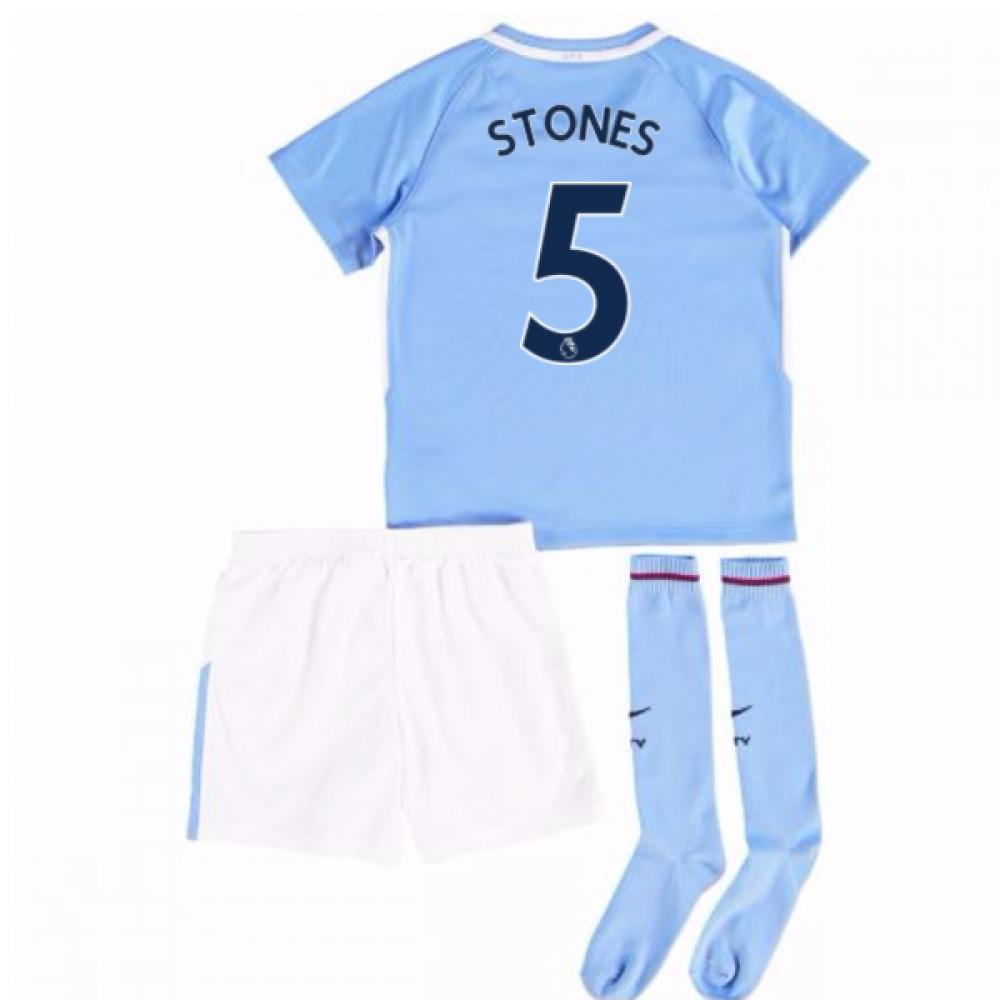 2017-18 Man City Mini Kit (Stones 5)