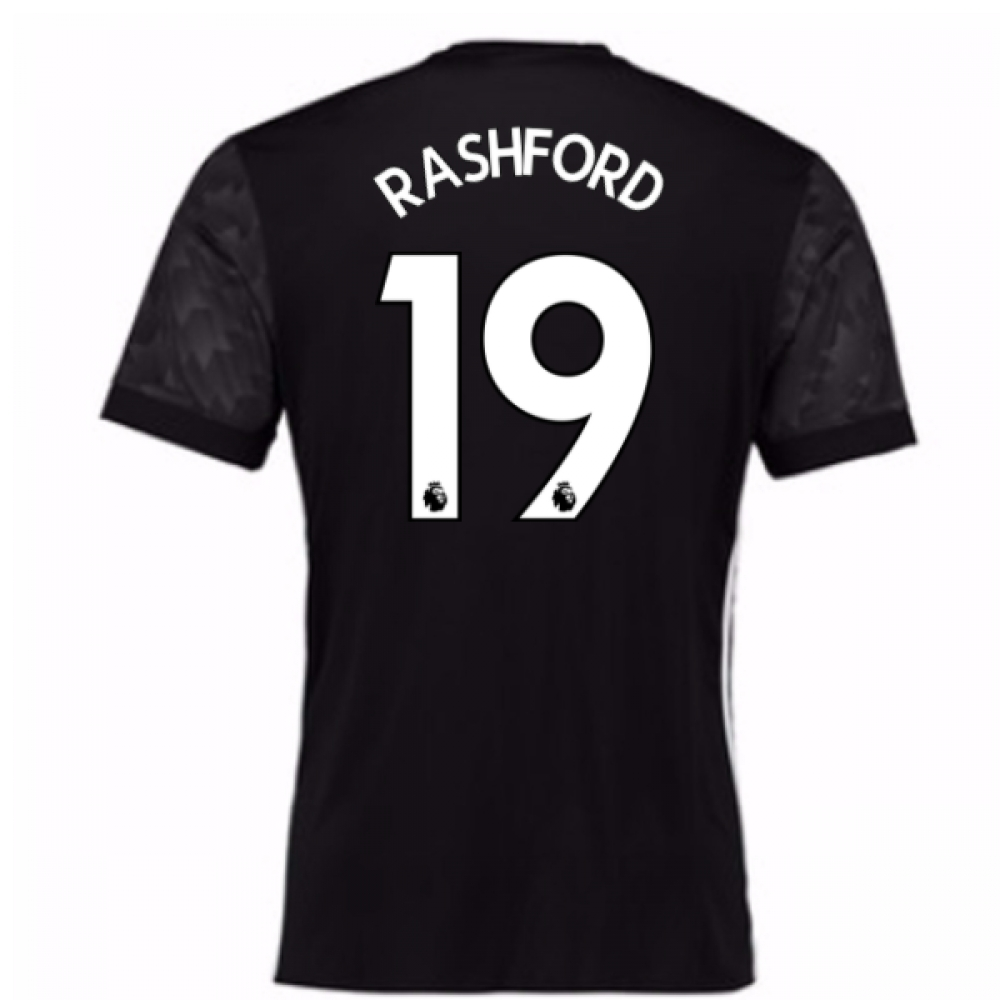2017-18 Man Utd Away Adidas Shirt (Rashford 19)