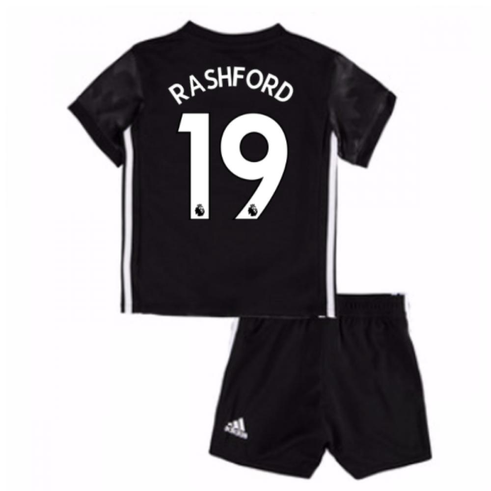 2017-18 Man Utd Away Baby Kit (Rashford 19)