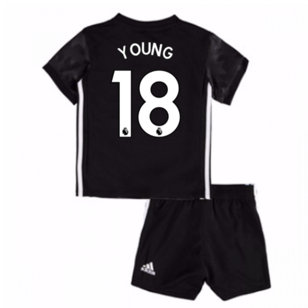 2017-18 Man Utd Away Baby Kit (Young 18)