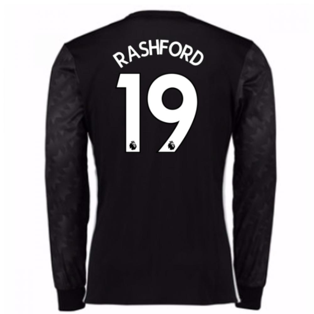 2017-18 Man Utd Away Long Sleeve (Rashford 19)