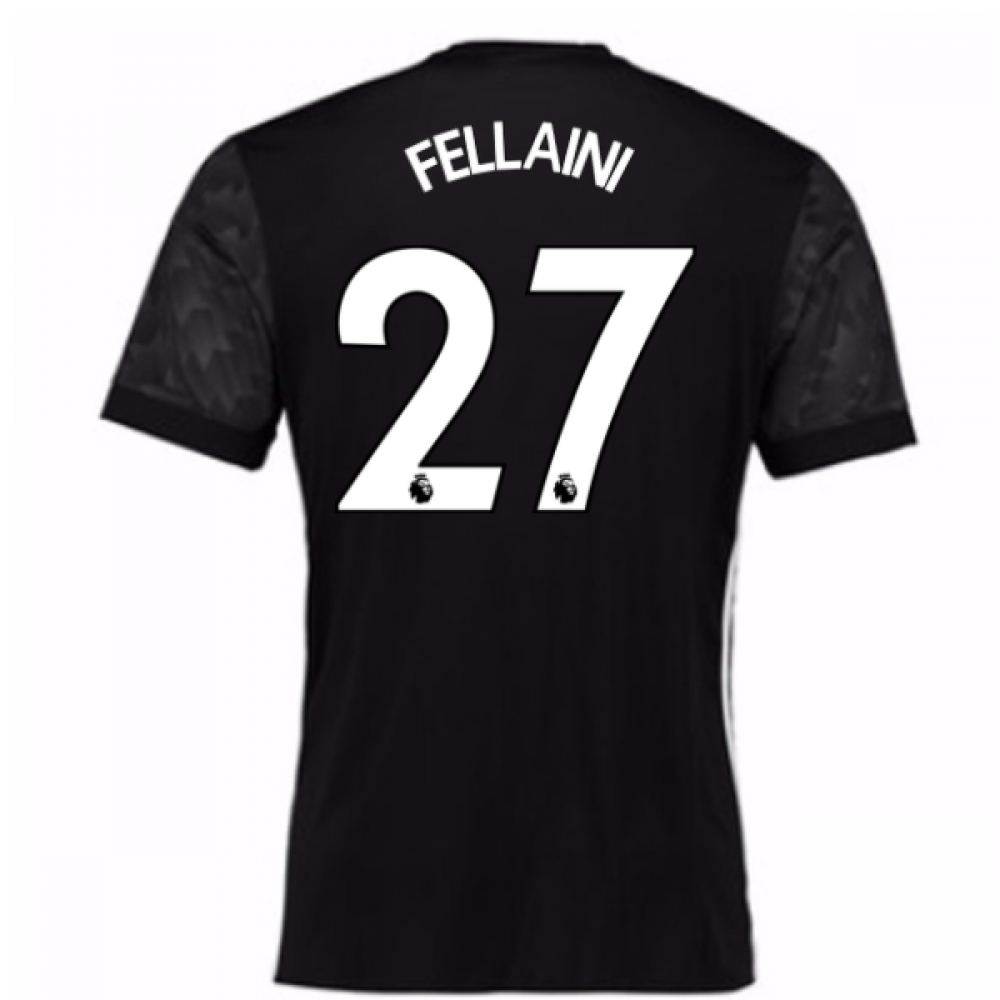 2017-18 Man Utd Away Shirt (Kids) (Fellaini 27)