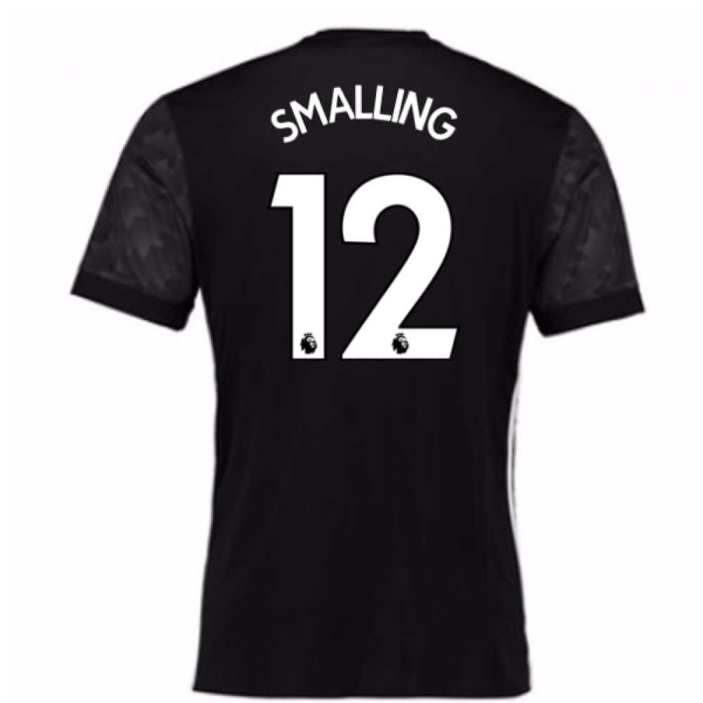 2017-18 Man Utd Away Shirt (Kids) (Smalling 12)