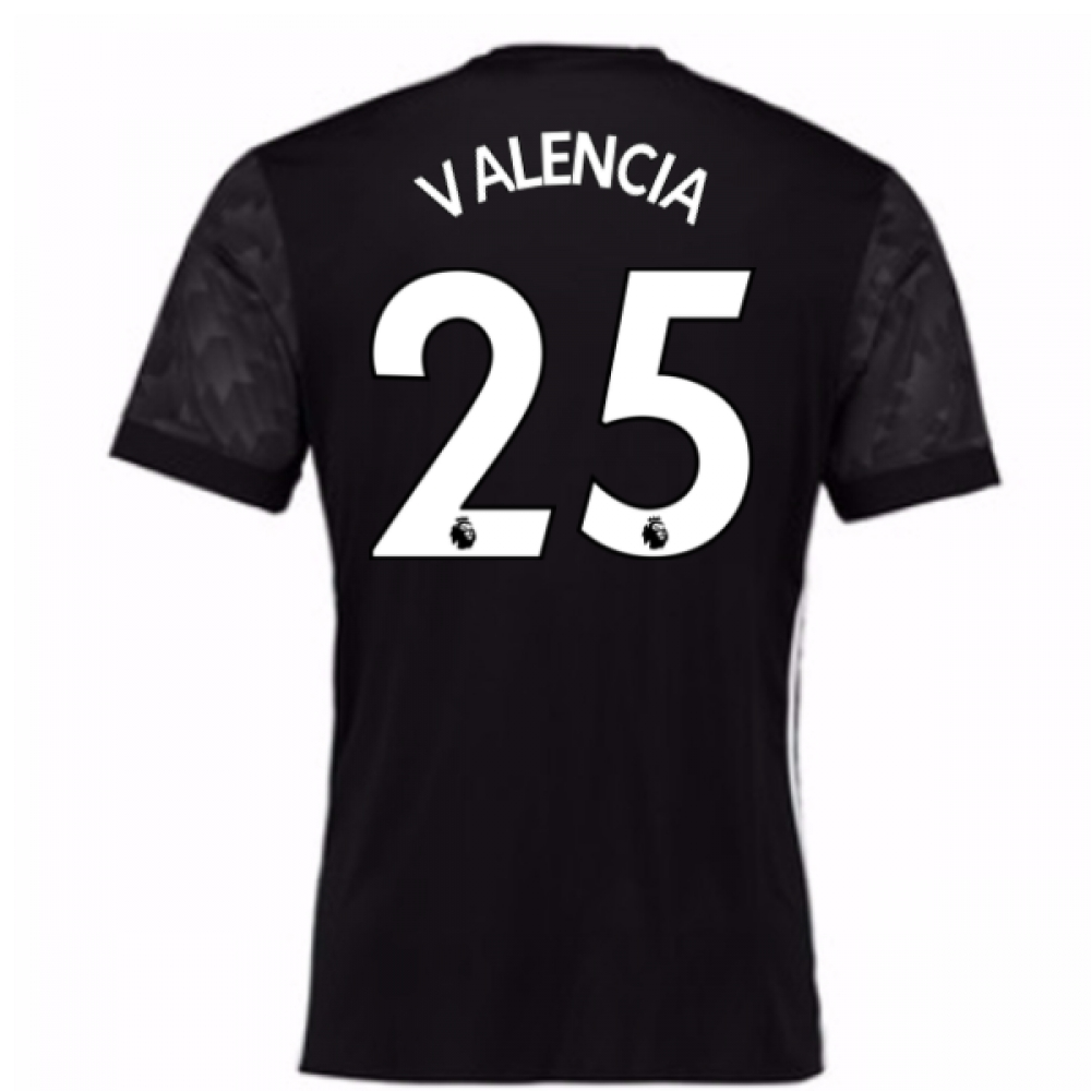 2017-18 Man Utd Away Shirt (Kids) (Valencia 25)