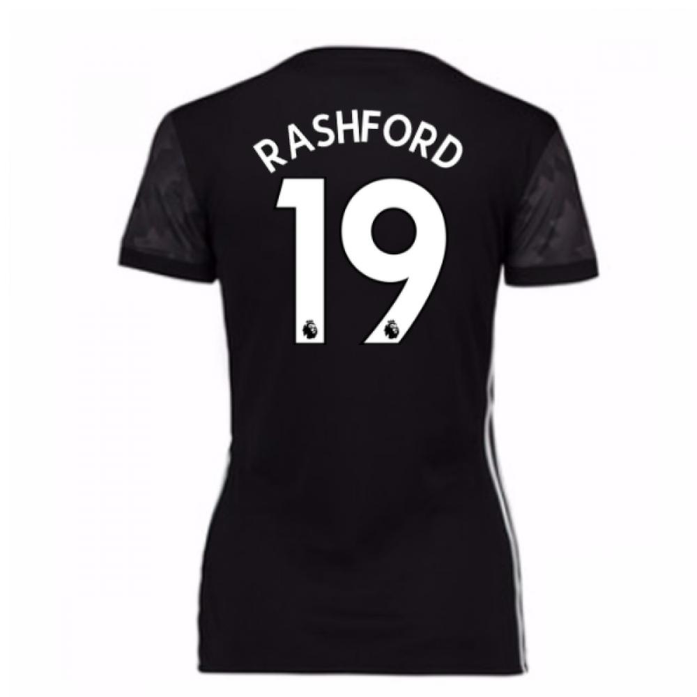 2017-18 Man Utd Away Womens Shirt (Rashford 19)