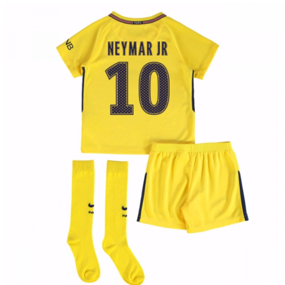 2017-18 PSG Away Mini Kit (Neymar Jr 10)