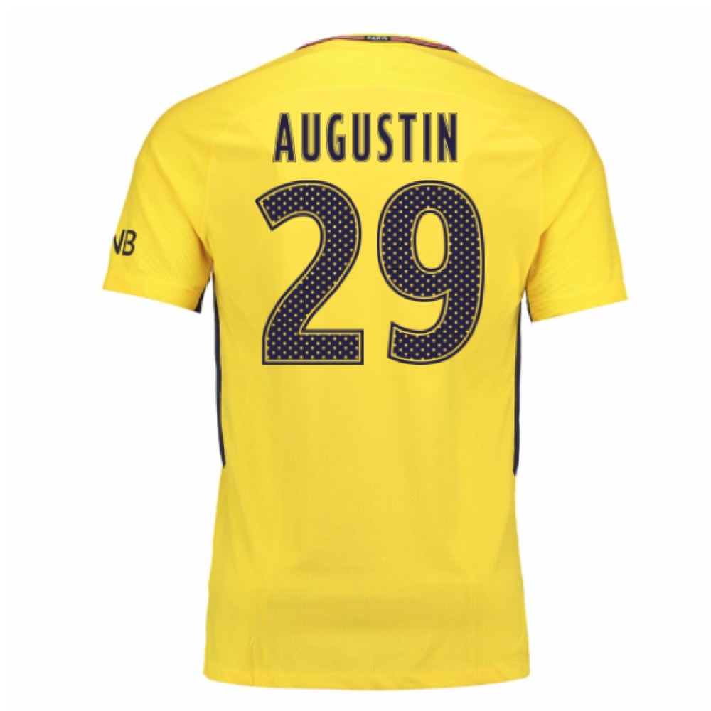 2017-18 PSG Away Shirt (Augustin 29) - Kids