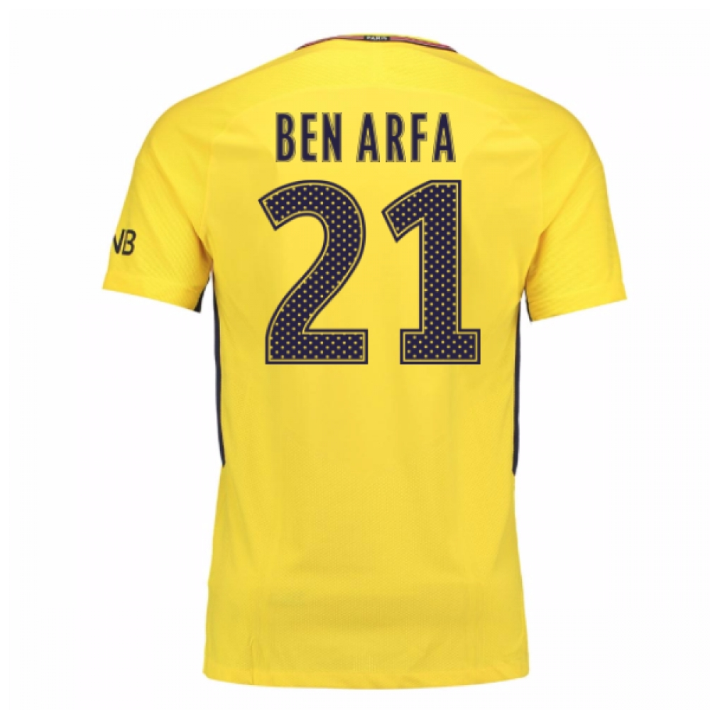 2017-18 PSG Away Shirt (Ben Arfa 21)