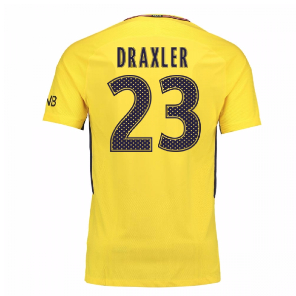 2017-18 PSG Away Shirt (Draxler 23)