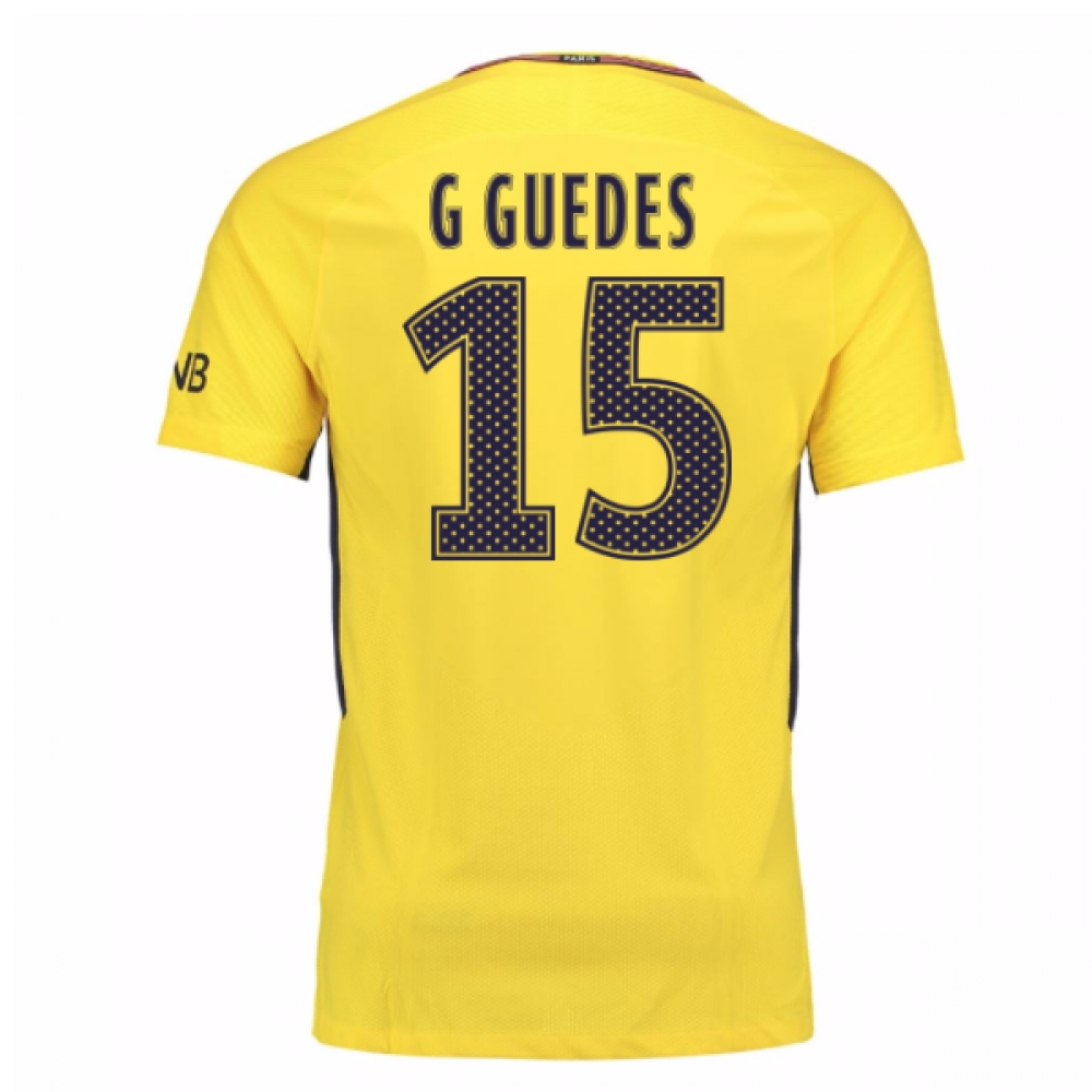 2017-18 PSG Away Shirt (G Guedes 15)