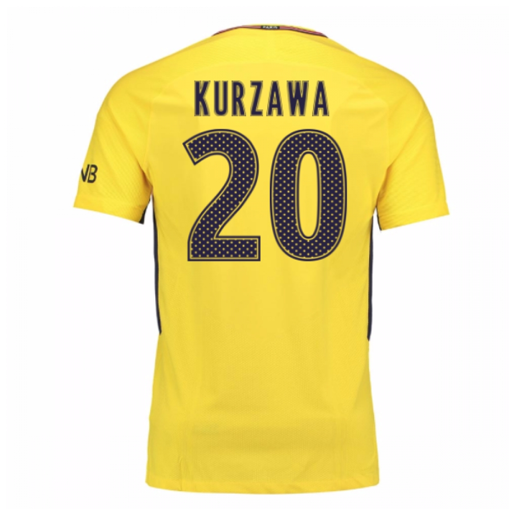 2017-18 PSG Away Shirt (Kurzawa 20)