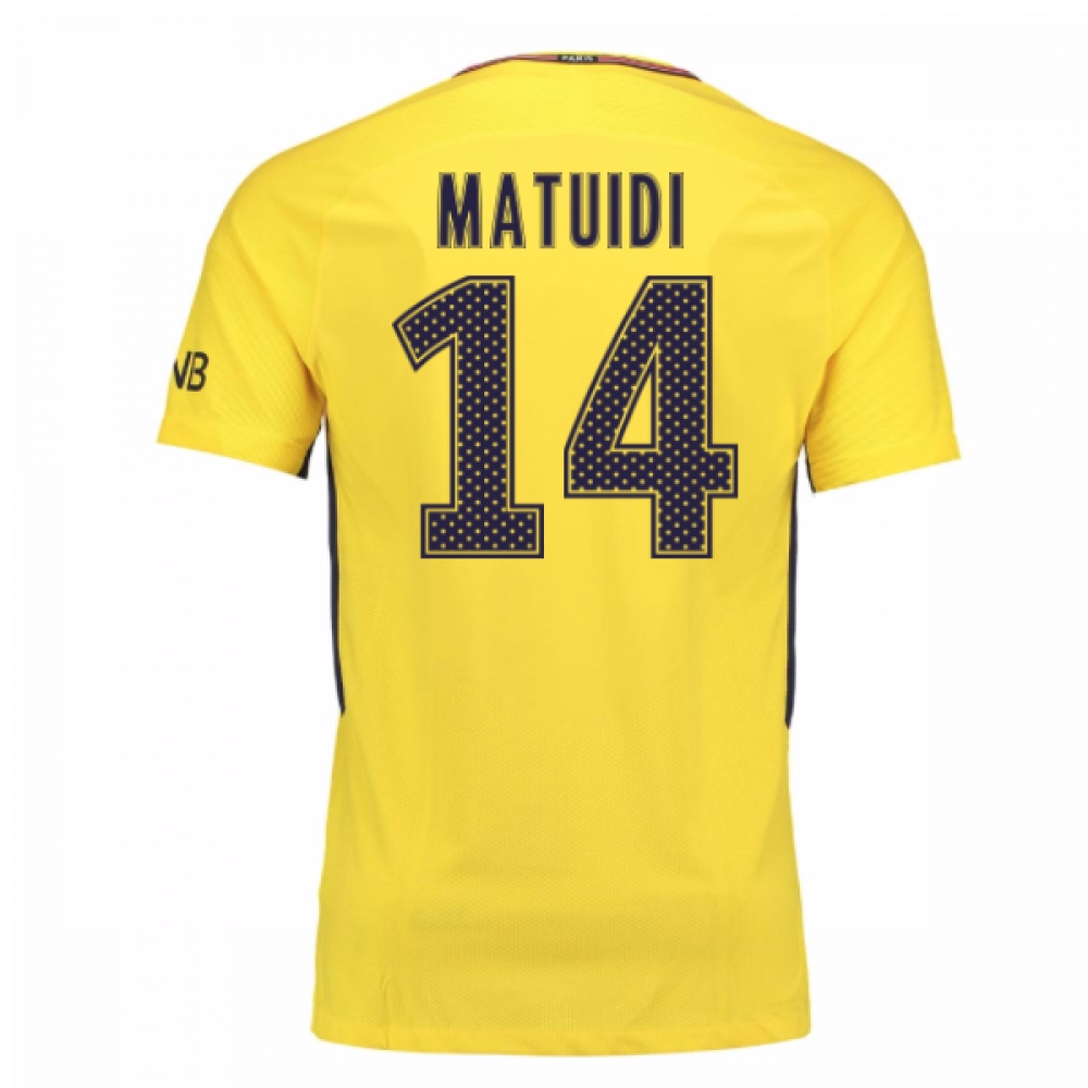 2017-18 PSG Away Shirt (Matuidi 14)
