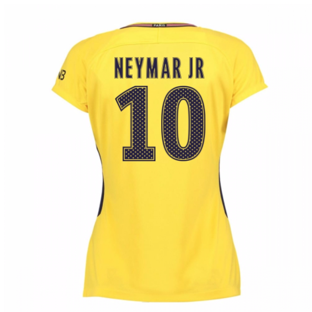 2017-18 PSG Away Womens Shirt (Neymar Jr 10)