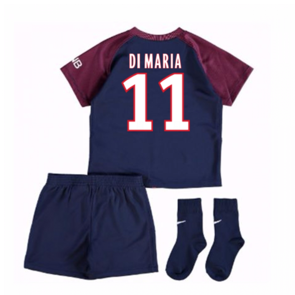 2017-18 Psg Home Baby Kit (Di Maria 11)