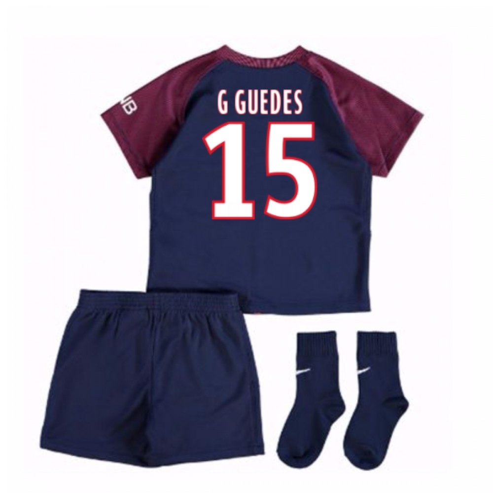 2017-18 Psg Home Baby Kit (G Guedes 15)