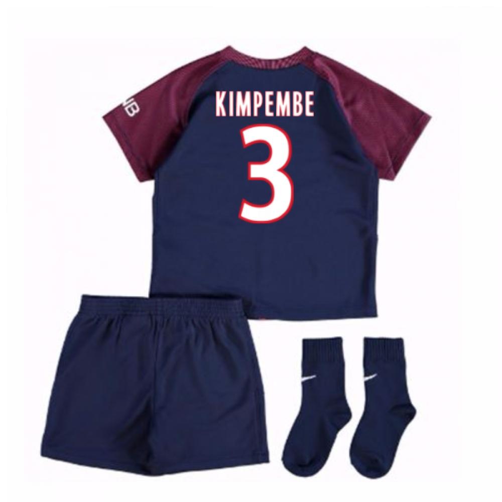 2017-18 Psg Home Baby Kit (Kimpembe 3)