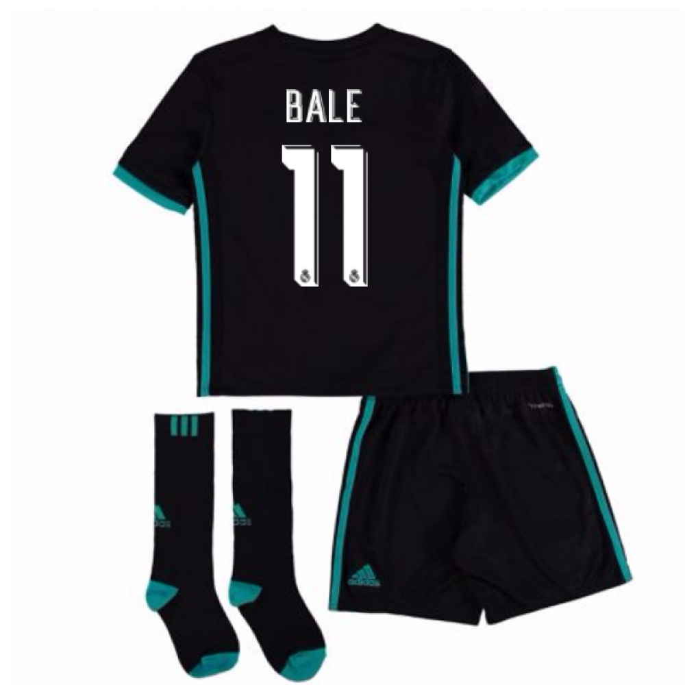 2017-18 Real Madrid Away Full Kit (Bale 11)