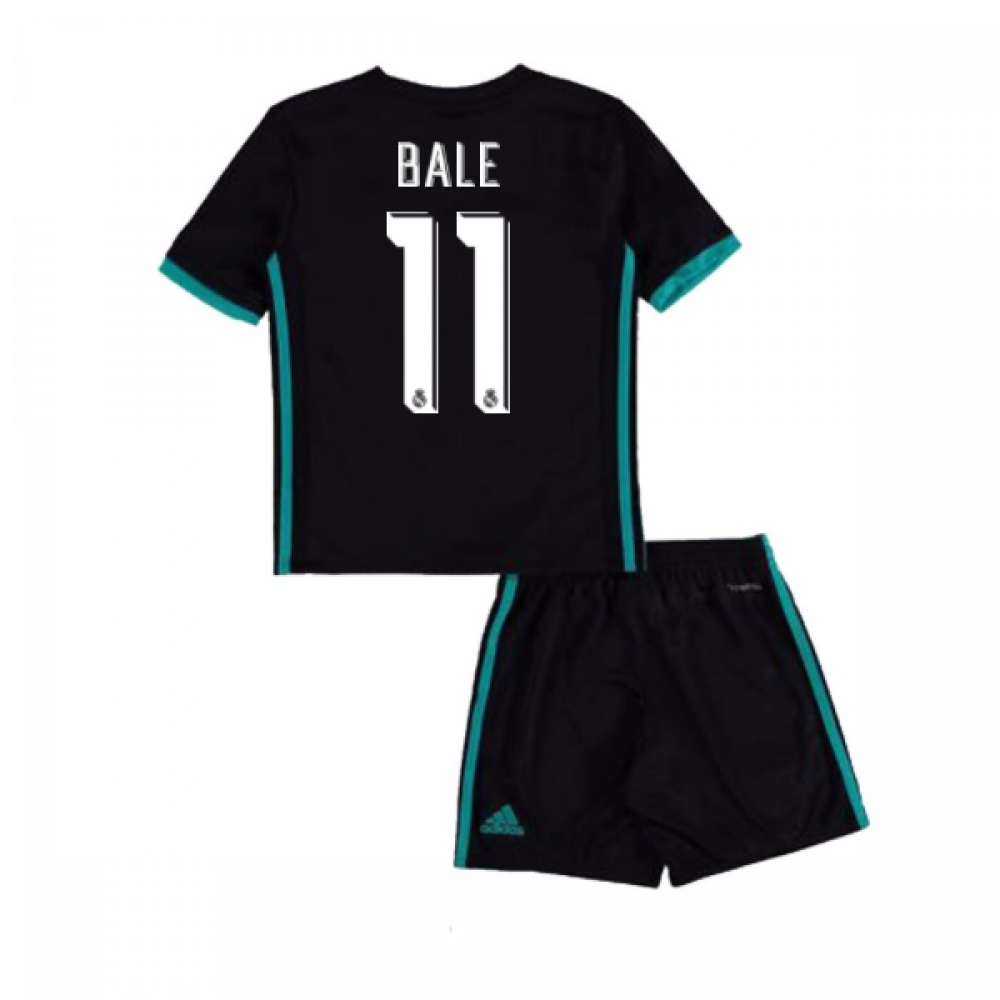 2017-18 Real Madrid Away Mini Kit (Bale 11)