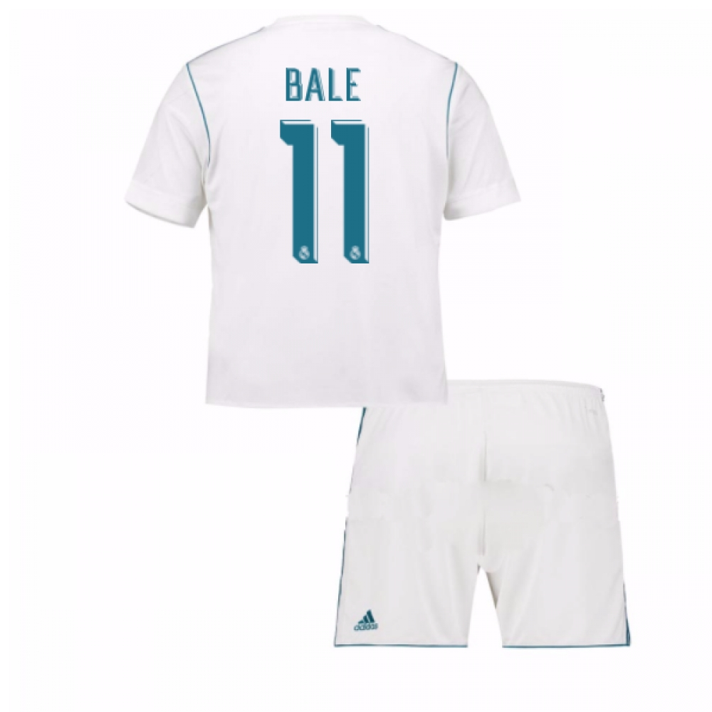 2017-18 Real Madrid Home Mini Kit (Bale 11)