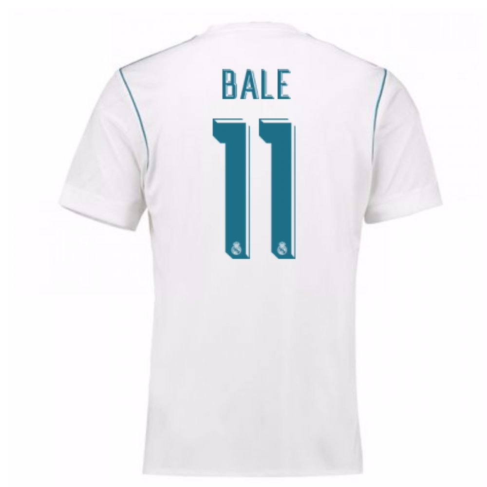 2017-18 Real Madrid Home Shirt - Kids (Bale 11)